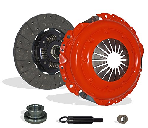 Clutch Kit Works With Chevrolet Gmc C G K 1500 2500 3500 Cheyenne Base LT Deluxe Sport Cheyenne Silverado WT Beauville Chevy Van 1988-1995 4.3L V6 5.0L V8 GAS OHV Naturally Aspirated (Stage 1)