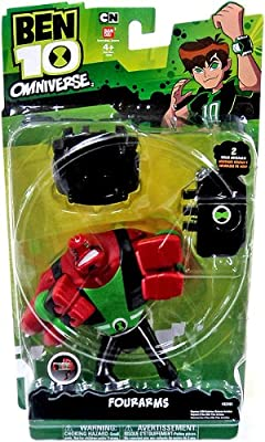 Ben 10 Super Four Arms Action Figure from Ben 10