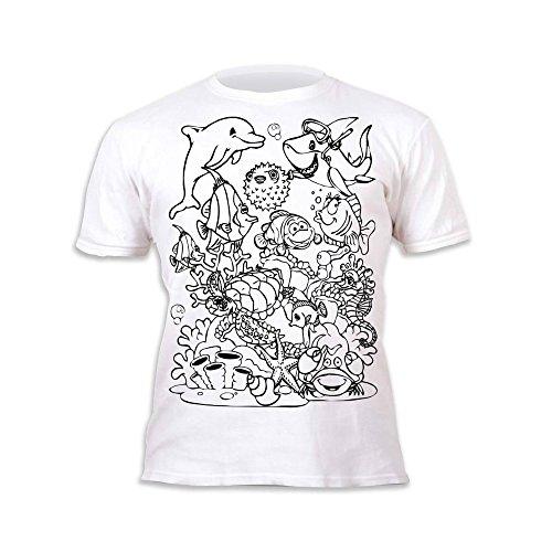 80% OFF Splat Planet Camiseta SEA LIFE deifín para niños y niñas ...