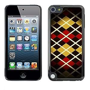 Be Good Phone Accessory // Dura Cáscara cubierta Protectora Caso Carcasa Funda de Protección para Apple iPod Touch 5 // Pattern Design Fashion Stripes Style Art