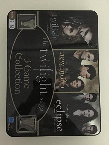 Twilight Saga 3 Game Collection in Collector Tin - Twilight, New Moon, & Eclipse (Twilight Game)