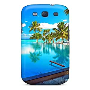 Tpu Shockproof/dirt-proof Maldives- Resort For Adi Cover Case For Galaxy(s3)