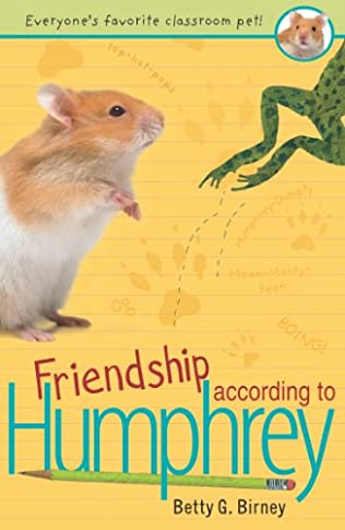 book cover of Friendship According to Humphrey