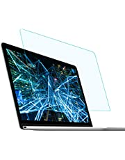 FORITO Anti Blue Light Anti Glare Screen Protector for MacBook Air 13-inch with Retina Display and Touch ID, 2-Pack Eye Protection Blue Light Blocking 2019 2018 Newest MacBook Air 13 Model A1932
