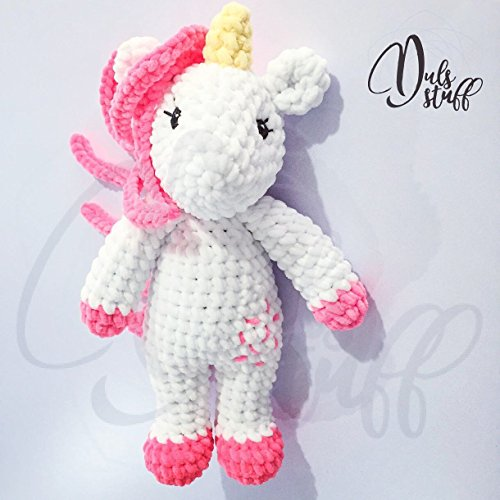 Unicornio de crochet, amigurumi, unicornio, unicornio amigurumi, peluche de unicornio, unicornio de ganchillo, ganchillo,...