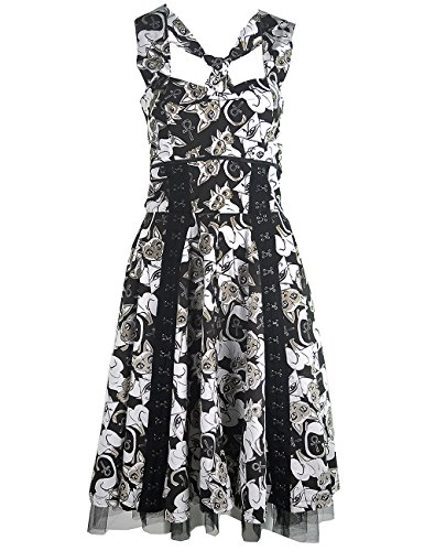 Clothing DRESS Schwarz Kleid Heartless SIAMESE d6pvvqx