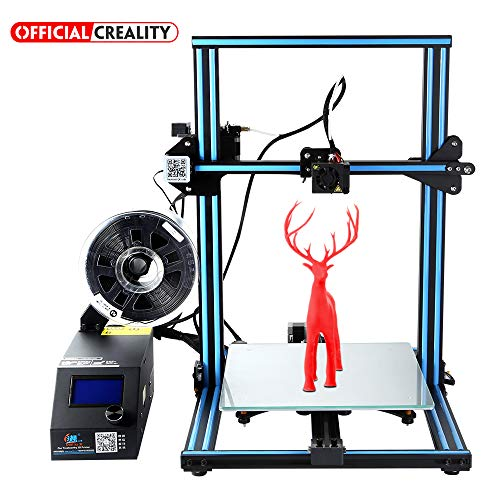 Official Creality 3D CR-10S 3D Printer with Filament Monitor Upgraded Control Board and Dual Z Lead Screw 300x300x400mm ()
