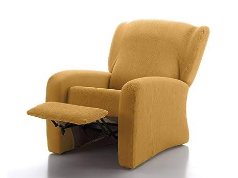 CAÑETE - Funda sillón Relax JARA - Color Mostaza: Amazon.es ...