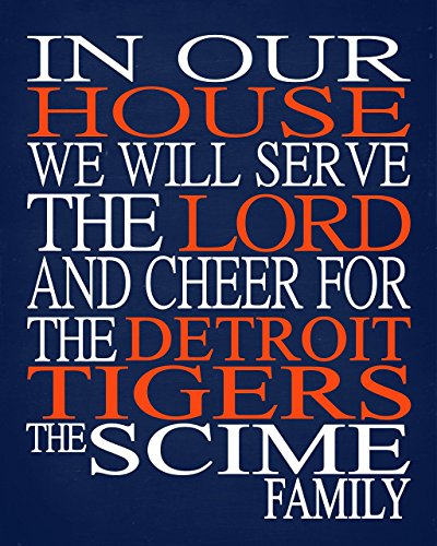best loved 44c3e b0a11 In Our House We Will Serve The Lord And Cheer for The ...