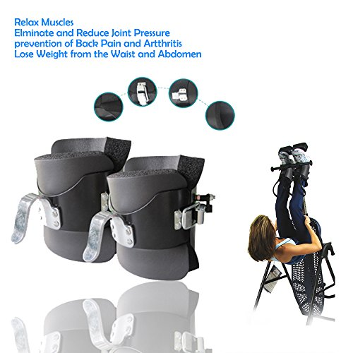 Enshey Professional Anti Gravity Safety Boot Inverted Feet Inverted Machine Upside Down for Fitness Training bar Hang Up Bar Equipment (1 Pair) by Enshey