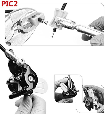 Revmega Hydraulic Mineral Disc Brake Bleed Kit Tool for Shimano - Fluid Not Included by Revmega (Image #2)