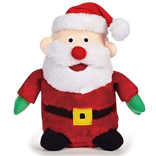 Holiday Musical Plush Dog Toys Plays Seasonal Christmas Song - Choose Character(Santa)