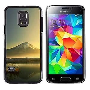 LECELL--Funda protectora / Cubierta / Piel For Samsung Galaxy S5 Mini, SM-G800 -- Mountain Lake --