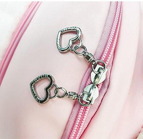 Meaeo Kinder Schultasche Soft Schwester, Schmetterling, Schmetterling Knoten Knoten, Schultertasche, Wenig Frisches Lady Rucksack, Pink Pink