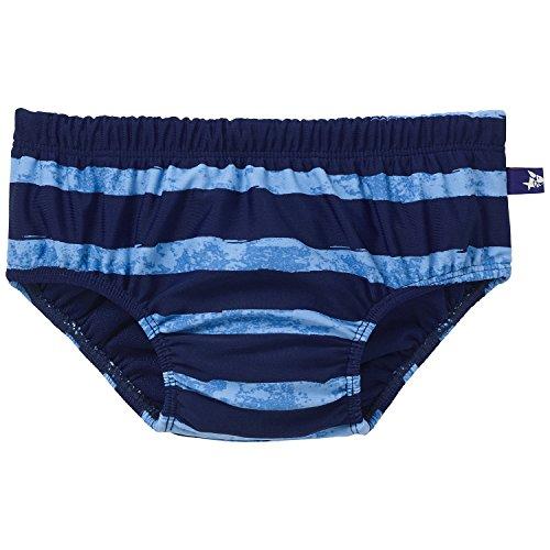 Schiesser Baby - Jungen Schwimmbekleidung, Badehose Windelslip, Blau (admiral 801), Gr. 98/104 (2-3Y)