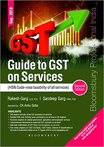 Guide to GST on Services – (HSN Code wise taxability of all services)