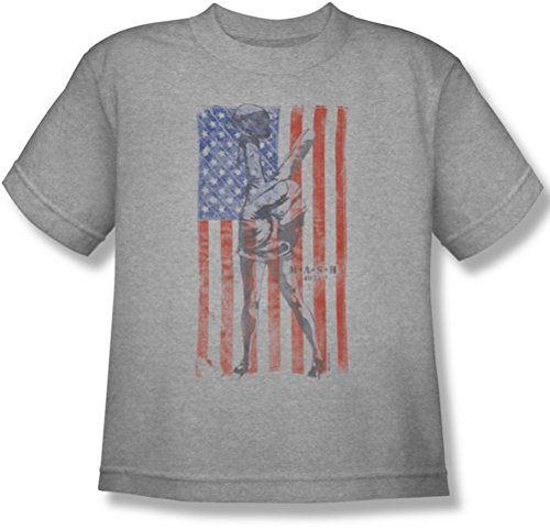 MASH - Youth Hang Em High T-Shirt, X-Large, Athletic Heather