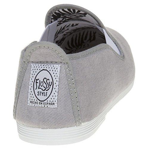 Flossy Classic Plimsoll Herren Schuhe Grau