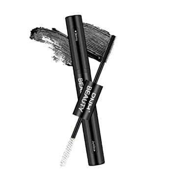 eb18df5f398 Amazon.com : 4D Silk Grafting Mascara with Fiber, Double-end Waterproof and  Smudge-proof Effect for Eyelashes Makeup ROMANTIC BEAR (Black) : Beauty
