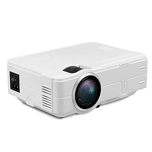 NewFay Proyector, 1200 lúmenes Proyector de Video 200
