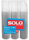 Solo 3-Ounce Plastic Bathroom Cups, 150-Count Package (150)