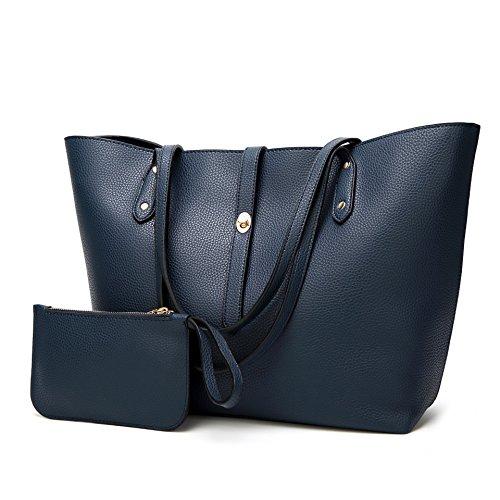 al mujer Azul Oscuro marrón hombro Bolso Royalmal claro para talla única wIPBqv