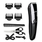 Hair Trimmer for Men, Broadcare Cordless Rechargable Hair Clippers Complete Kit