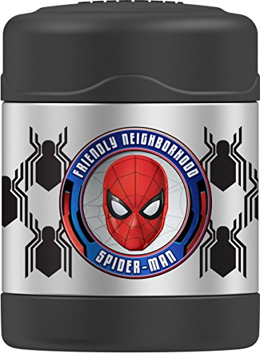 Spider Man Lunch (Thermos Funtainer 10 Ounce Food Jar, Spiderman Homecoming)
