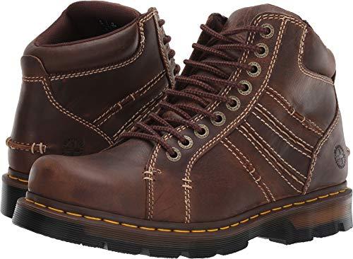 Dr. Martens Men's Quincy 77 Fashion Boot, tan, 9 Regular UK (10 ()