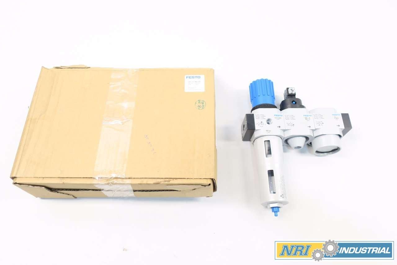 Festo 185747 Service Unit Combination, Model LFR-1/4-D-MIDI-KD