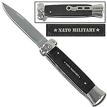 Striker Spring Assisted Knife NATO Silver
