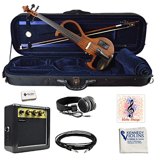 Bunnel EDGE Clearance Electric Violin Outfit BE300 (Zebrano)