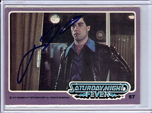 John Travolta Signed Autographed Trading Card Saturday Night Fever 57 Jsa U99017 Movies Cards & Papers