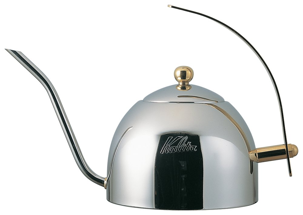 Kalita Drip Pot 1000s [Stainless Steel Made in Tea Strainer with 1000ml # 52037] (Japan Import) by Kalita (Carita)