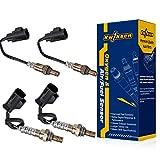 4pcs Air Fuel Ratio Sensor Upstream and Downstream O2 Oxygen Sensor 234-9075 234-4264 Sensor 1 and Sensor 2 for 2007-2009 Land Rover Range Rover Sport 4.2L 4.4L