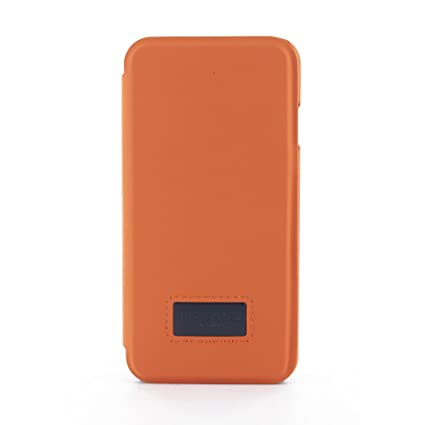 10c5f72ffe5b Amazon.com  Ted Baker AW18 Fashion Folio Case for Apple iPhone 8 7 Premium  Quality Cover for Professional Men Boys - TETTRA - Orange  Electronics