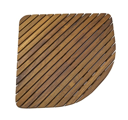 Cheap  SeaTeak 60023 Teak Shower or Door Mat, Oiled Finish, Triangular