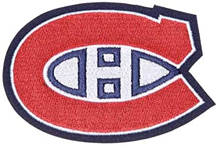 Amazon Com Montreal Canadiens Habs Primary Team Logo Patch Sports Outdoors