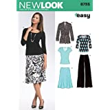 New Look Sewing Pattern 6735 Misses' Separates, Size A (10-12-14-16-18-20-22)