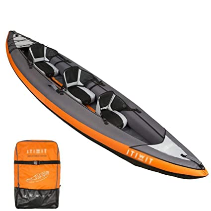Kayak Inflable - Kayak Barco Inflable Barco de Pesca Canoa (Color ...