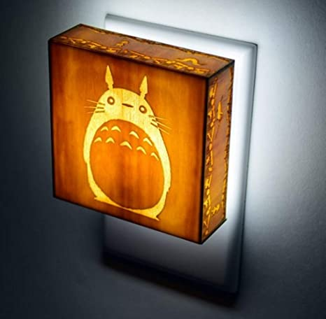 10ae92a7 Image Unavailable. Image not available for. Color: Automatic Sensor Led  Night Light My Neighbor Totoro Miyazaki Hayao Studio Ghibli ...