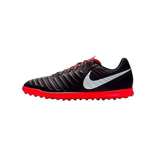 Nike Jr Legend 7 Club TF, Zapatillas de fútbol Sala Unisex Adulto, (Black