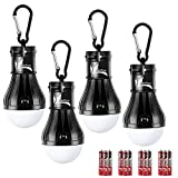 DealBang Compact LED Camping Light Bulbs with Clip Hook (Batteries...
