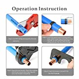 IWISS Combo Angle Head PEX Pipe Crimping Tool Kits
