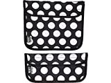 (US) BUILT NY Reusable Sandwich and Snack Sleeves, Big Dot Black & White