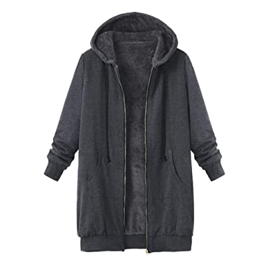 autumn shoes sale retailer temperament shoes Manteau à Capuche Femme Hiver Grande Taille Parka Coat Outwear Manches  Longues Sweat Veste avec Capuche Dames Manteaux Doublure Polaire Épais Chaud