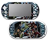 Avengers 3 Spider Man Hulk Iron Hawkeye Thor Black Widow Thanos Age of Ultron Video Game Vinyl Decal Skin Sticker Cover for Sony Playstation Vita Slim 2000 Series System
