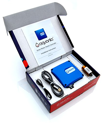 Aquanta Networked Water Heater Controller With Leak Sensor