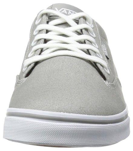 Vans W WINSTON LOW VVO2ATT Damen Sneaker Grau ((Canvas) wild d)