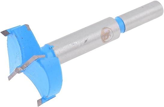 uxcell 35mm 1.4 inch Diameter Wood Cutting Hinge Boring Bit Carbide Tip for Carpenter